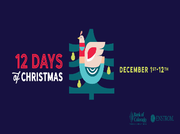 Downtown Grand Junction 12 Days of Christmas graphic