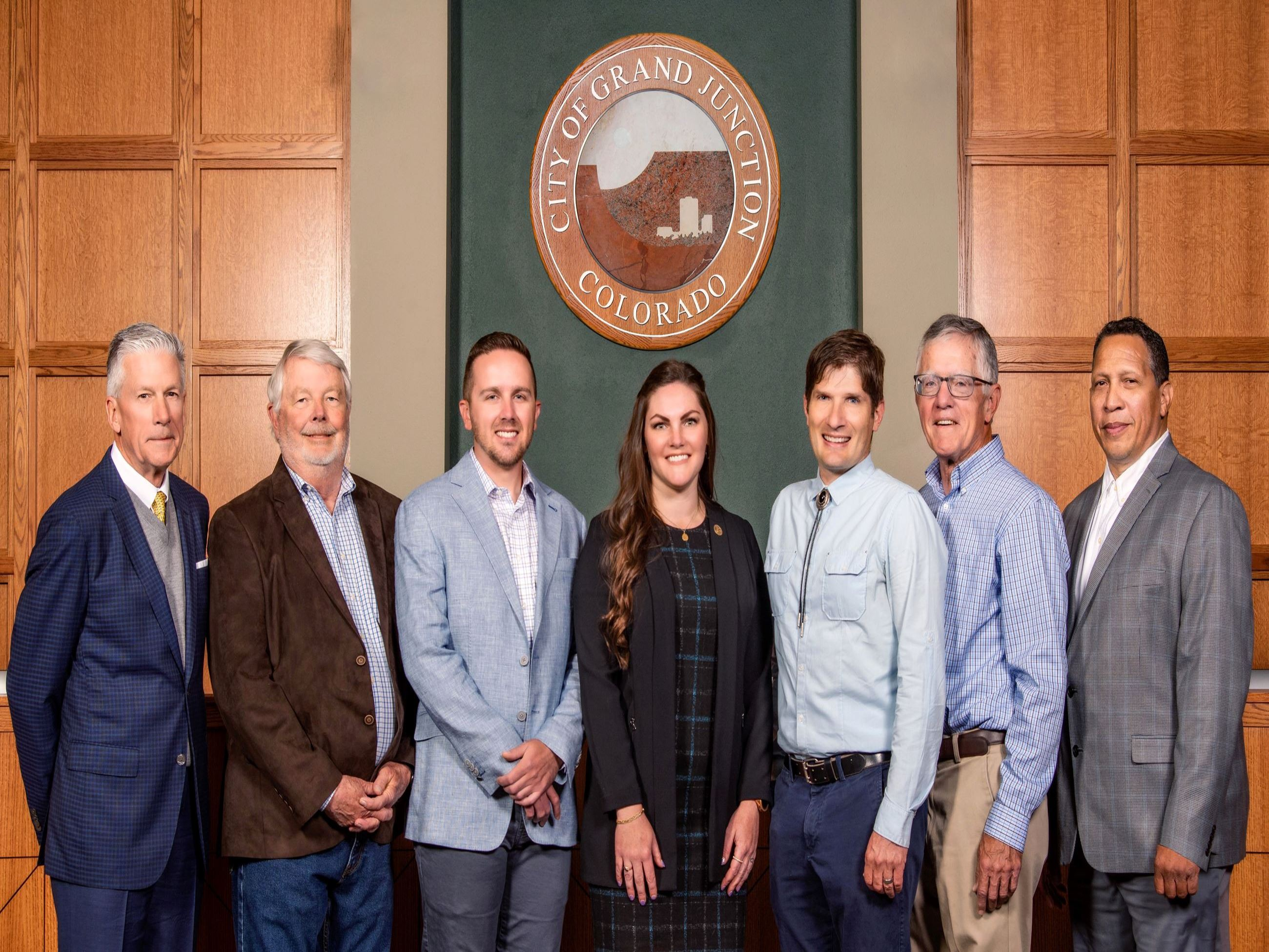 2021 Grand Junction City Councilmembers