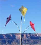 The Community That Plays Together... Kite Mobile by J. Gunnar Anderson